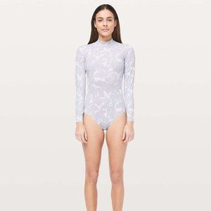 Lululemon Will The Wave Long Sleeve One Piece Swim